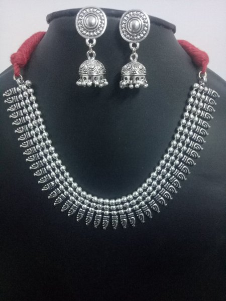 Elegant Ball Chain Necklace Set