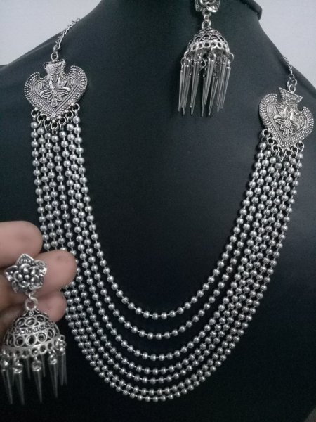 Beautiful Ball Chain Multilayer Necklace Set