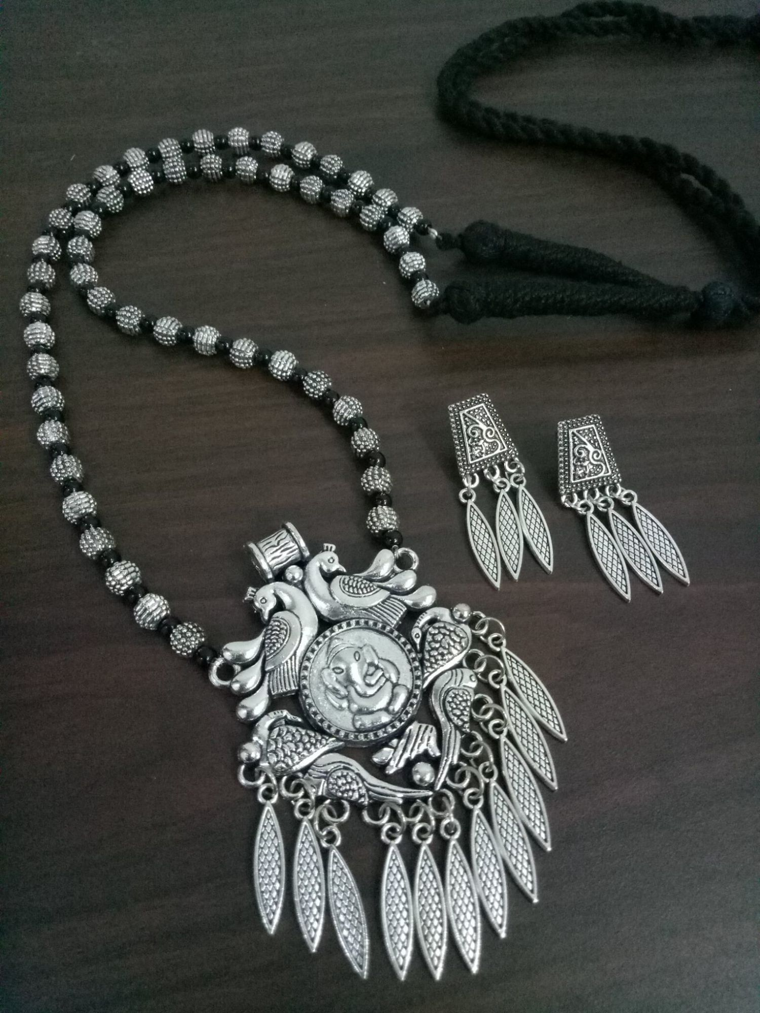 Royal rajputi long mala set