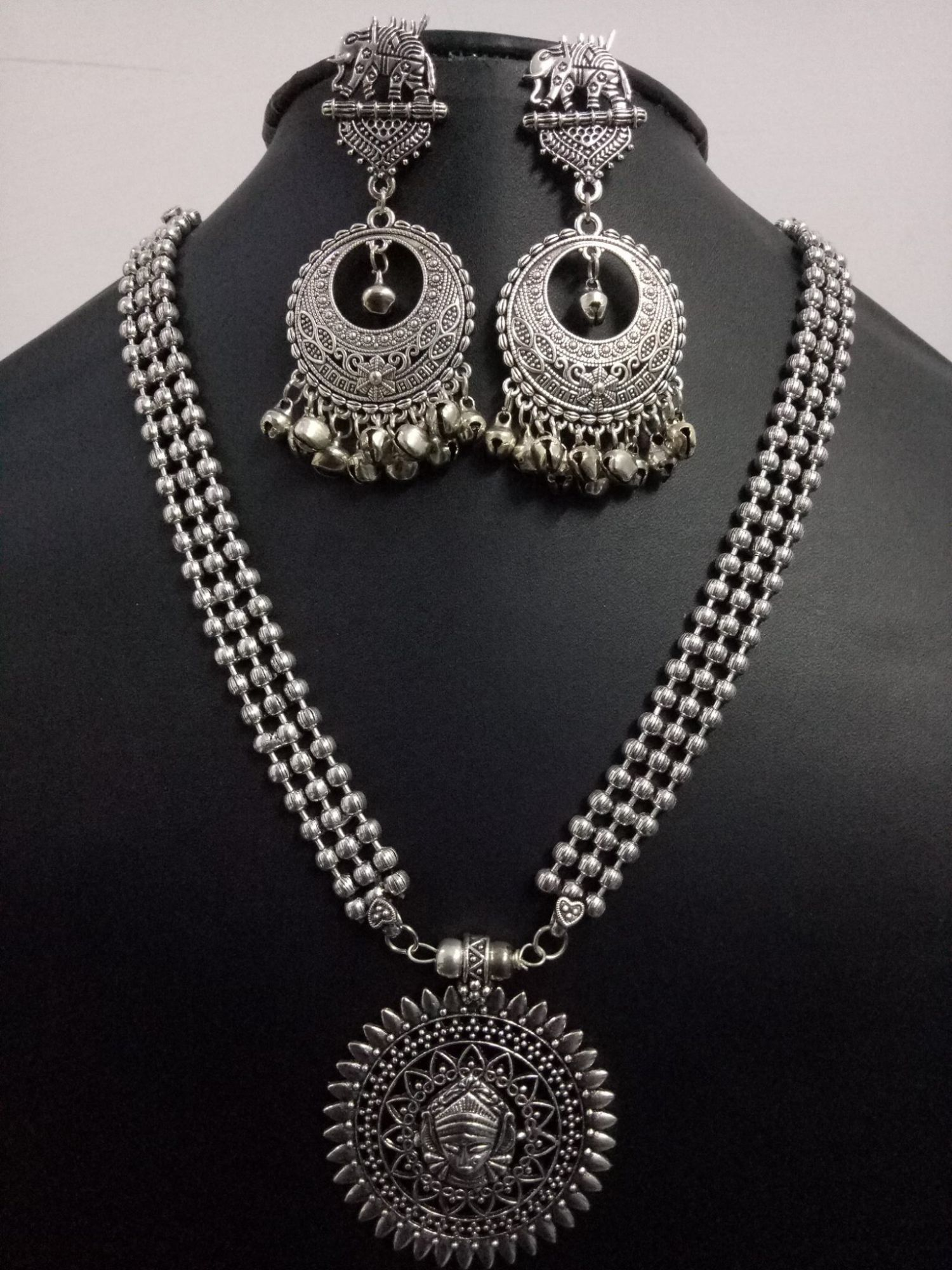 Gracious Ball Chain Necklace Set