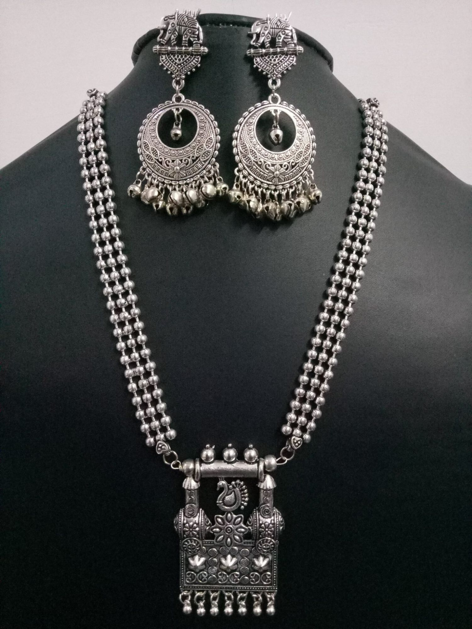 Magnificent Ball Chain Necklace Set