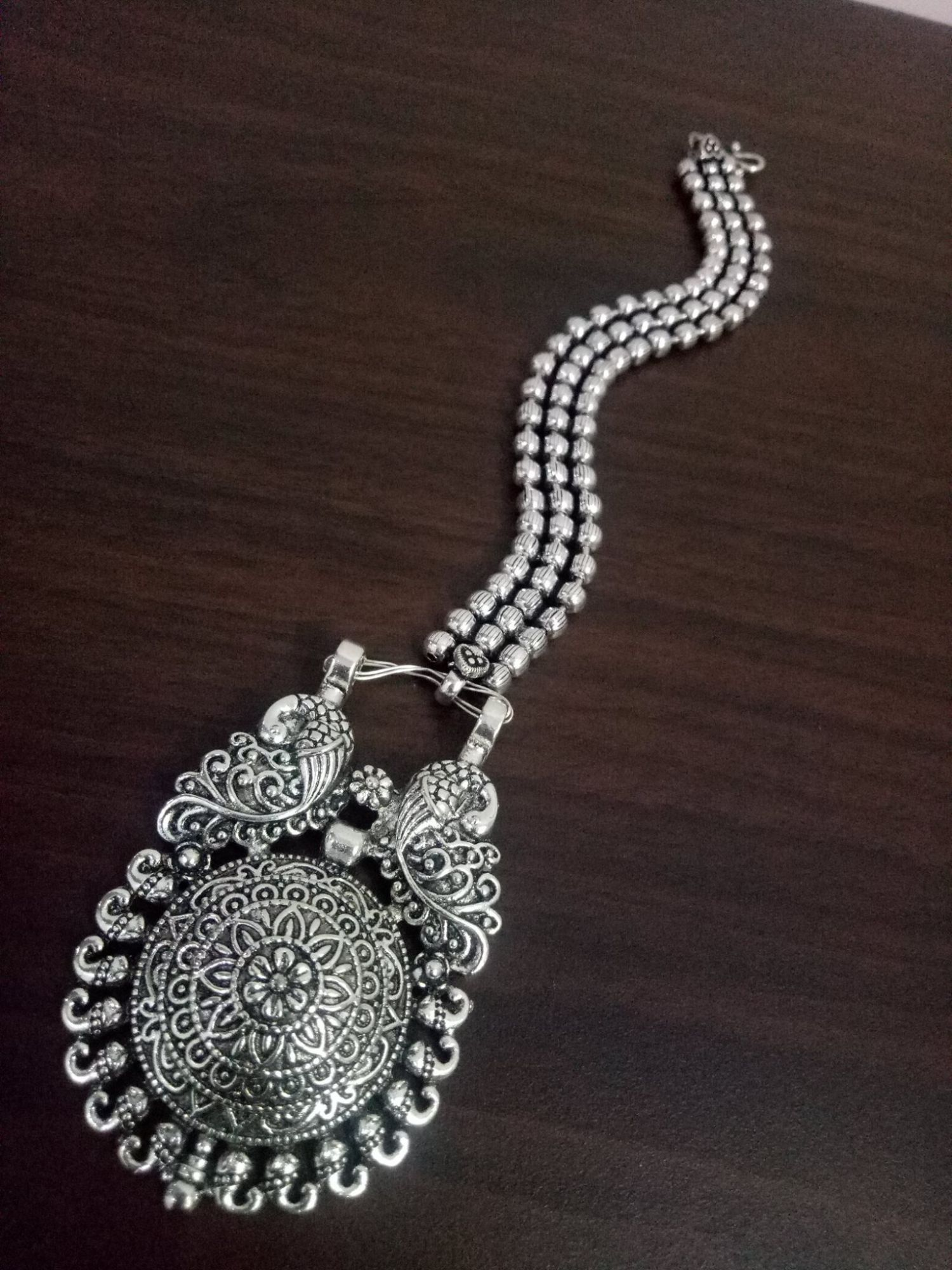 Attractive Ball Chain Maangtikka
