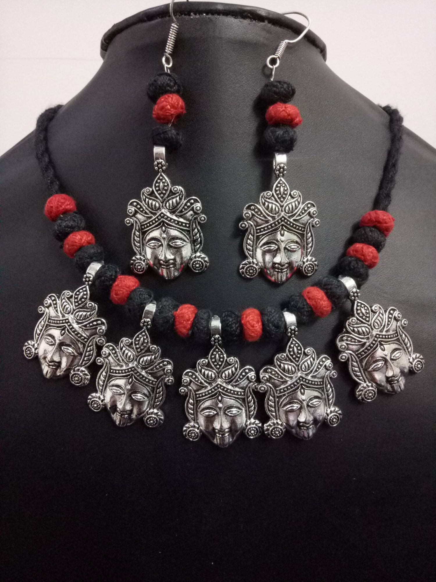 Beautiful Goddess Temple Necklace Set