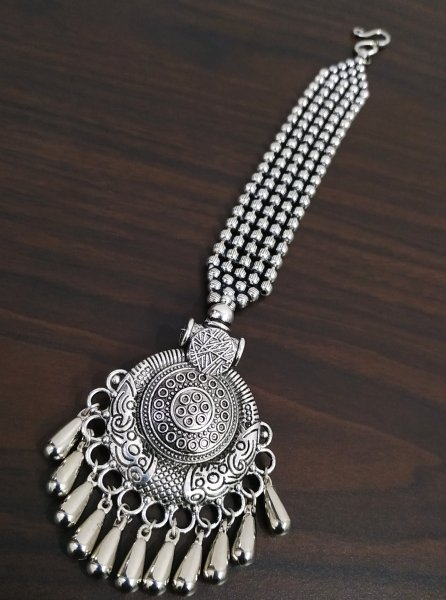 Artistic Oxidised Ball Chain