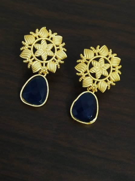 Beautiful Stone Golden Studds