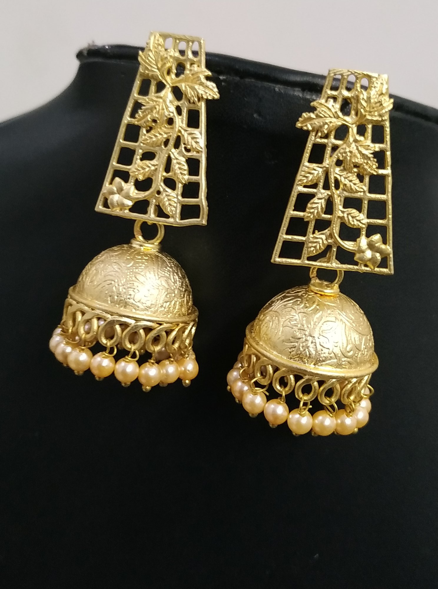 Designer Matt Golden Jhumki
