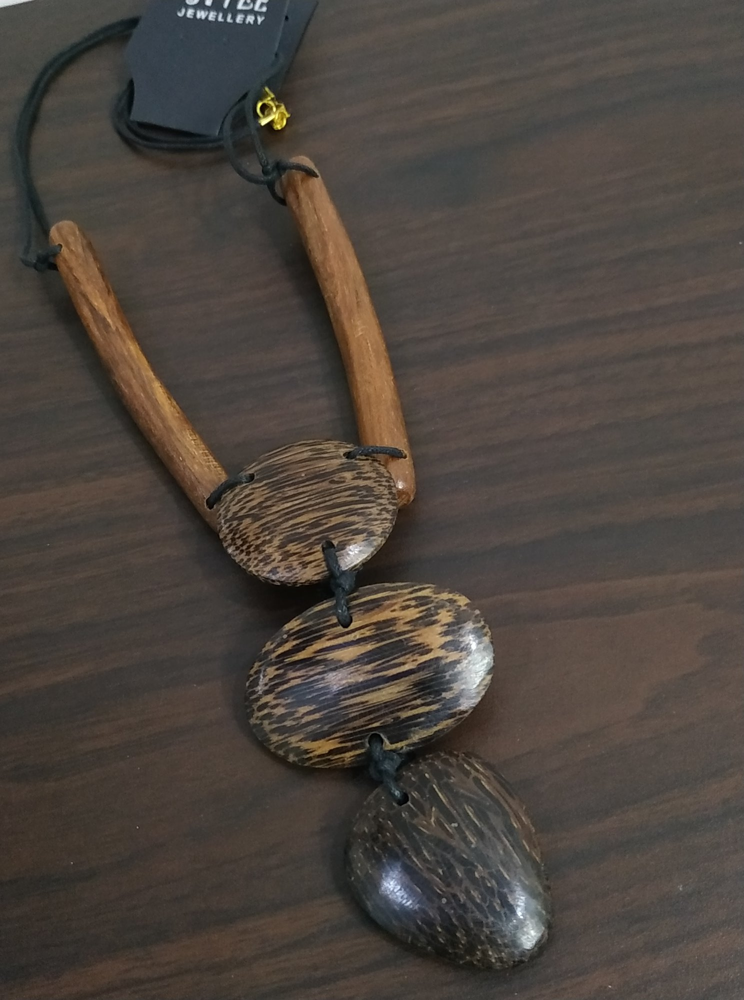 Tribal Wooden Neckpiece