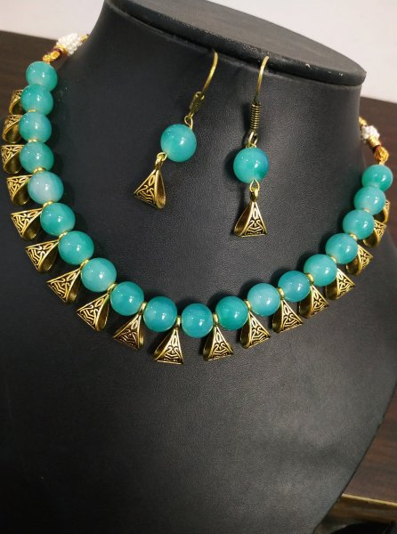 Fabulous Golden Necklace Set