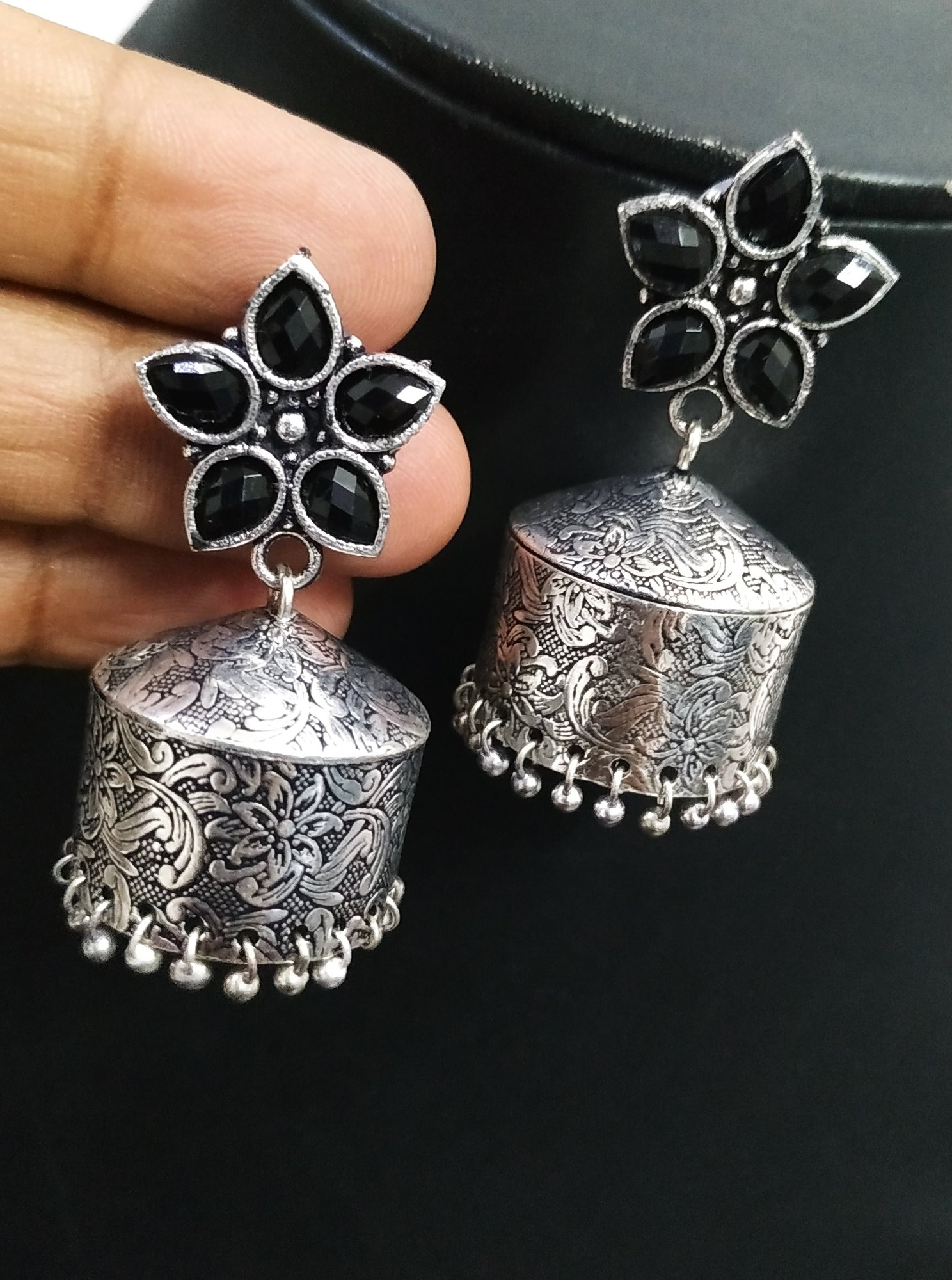 Royal Stone Jhumka