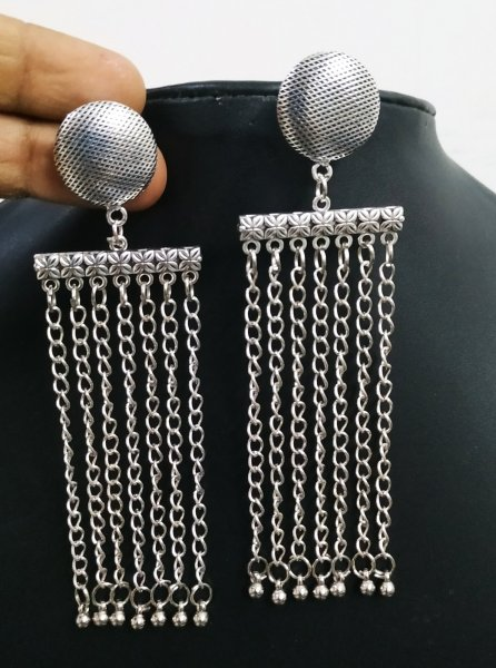Gorgeous Long Chain Earrings