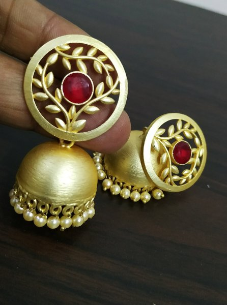 Tree Designer jaipuri Earrings